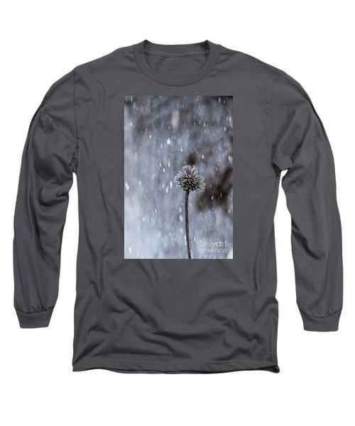 Winter Flower Long Sleeve T-Shirt