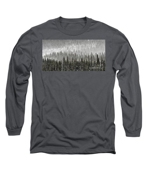 Winter Forest Long Sleeve T-Shirt