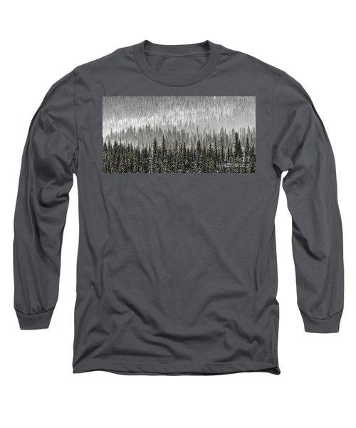 Winter Forest Long Sleeve T-Shirt