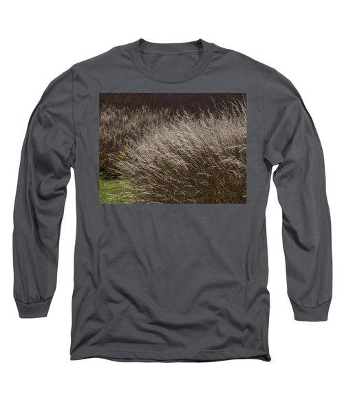 Winter Grass Long Sleeve T-Shirt