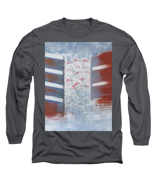 Winter In Chernogolovka Long Sleeve T-Shirt by Tamara Savchenko