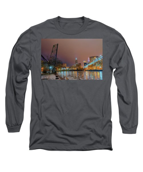 Winter In Cleveland, Ohio  Long Sleeve T-Shirt