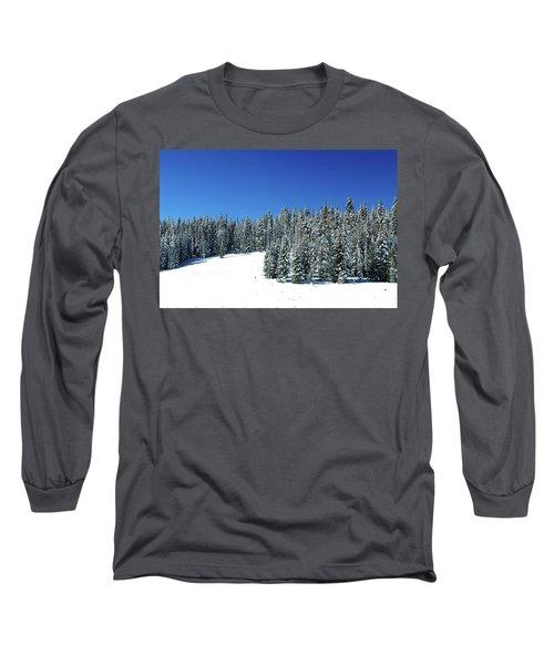 Winter In Colorado  Long Sleeve T-Shirt