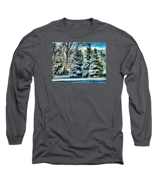 Winter In New England Long Sleeve T-Shirt