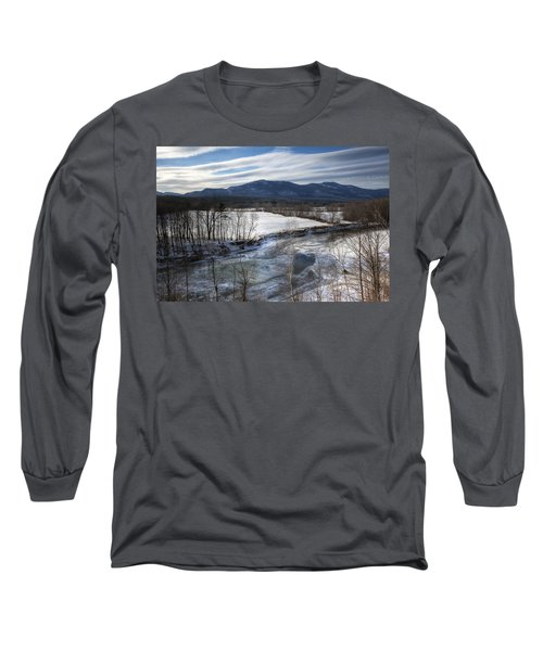 Winter In North Conway Long Sleeve T-Shirt