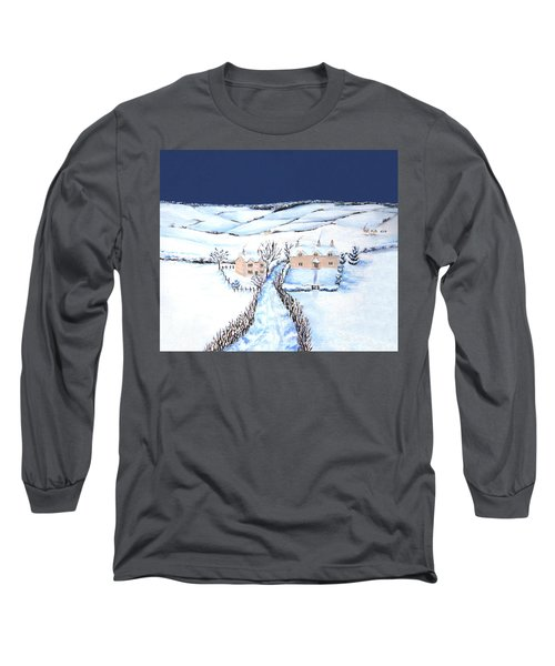 Winter In The Cotswolds Long Sleeve T-Shirt