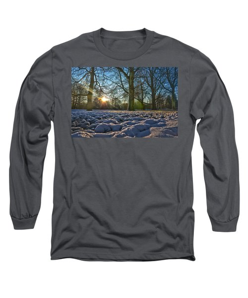 Winter In The Park Long Sleeve T-Shirt