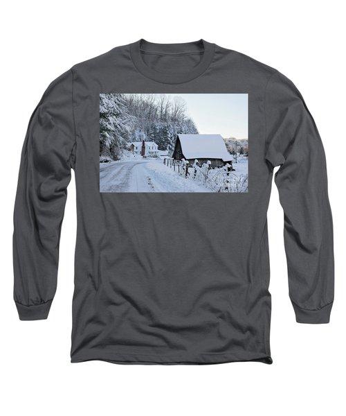 Winter In Virginia Long Sleeve T-Shirt
