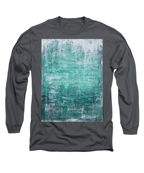 Winter Landscape Long Sleeve T-Shirt by Jocelyn Friis
