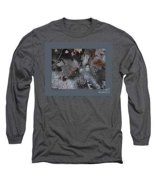 Winter Leaf Abstract-ii Long Sleeve T-Shirt