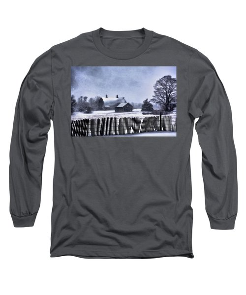 Winter Long Sleeve T-Shirt by Mark Fuller