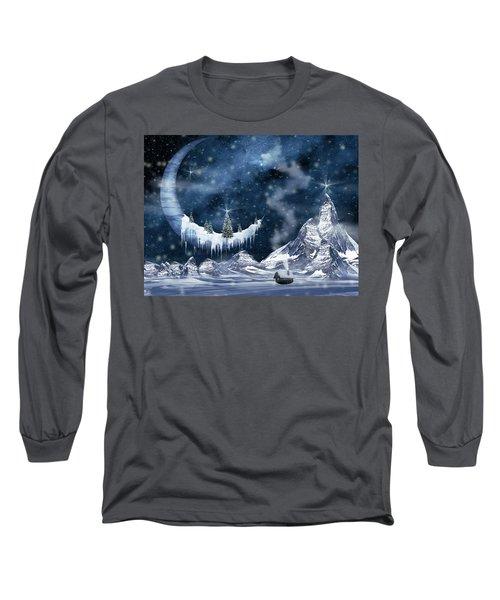 Winter Moon Long Sleeve T-Shirt