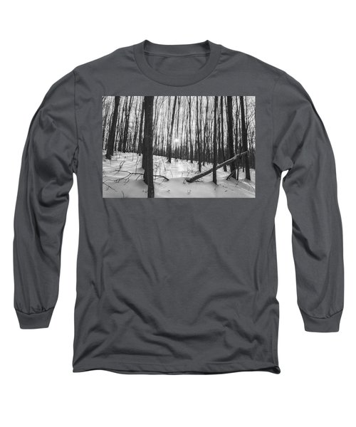 Winter Morning Dream Long Sleeve T-Shirt by Angelo Marcialis