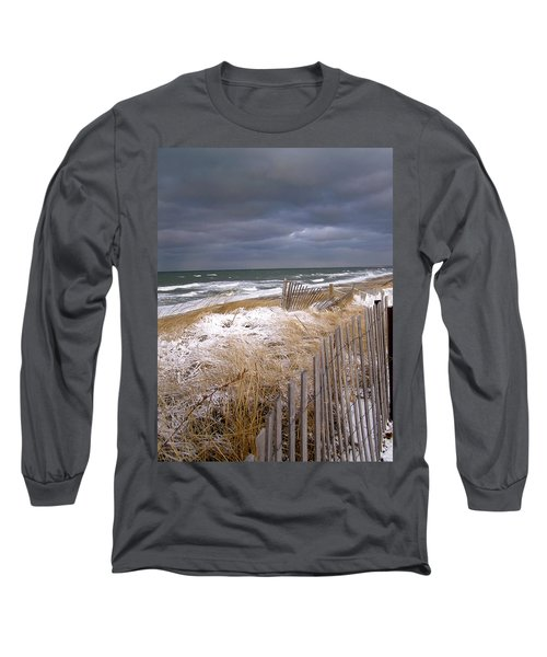 Winter On Cape Cod Long Sleeve T-Shirt