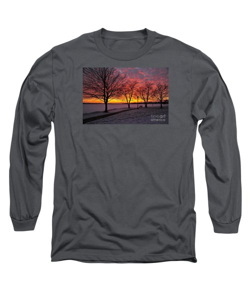 Long Sleeve T-Shirt featuring the photograph Winter Park by Terri Gostola