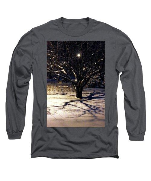 Winter Romace Long Sleeve T-Shirt by Samantha Thome