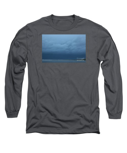 Long Sleeve T-Shirt featuring the photograph Winter Sky by Jeanette French