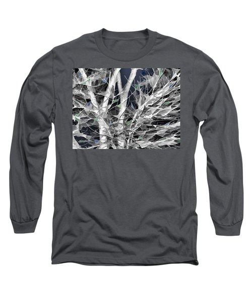 Long Sleeve T-Shirt featuring the digital art Winter Song by Wendy J St Christopher