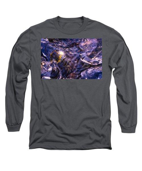 Winter Streams Long Sleeve T-Shirt by Craig Szymanski