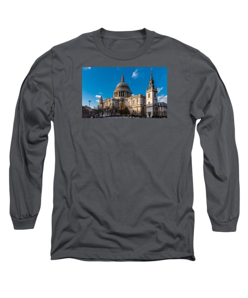 Winter Sun St Paul's Cathedral Long Sleeve T-Shirt