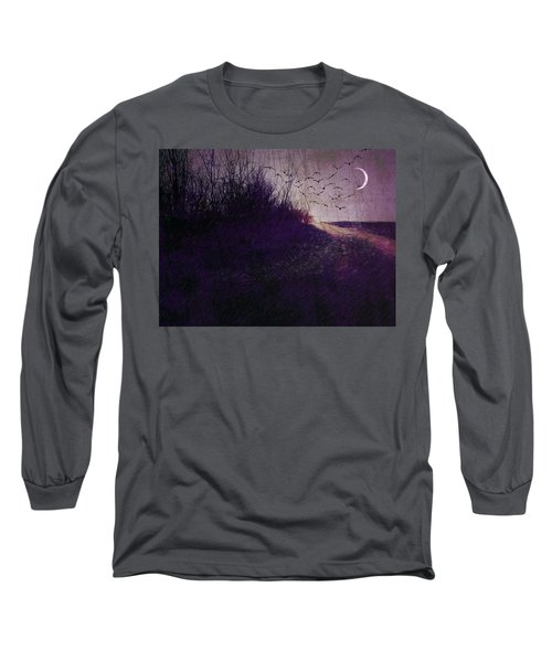 Winter To Spring The Promise Of New Life. Long Sleeve T-Shirt by Michele Carter