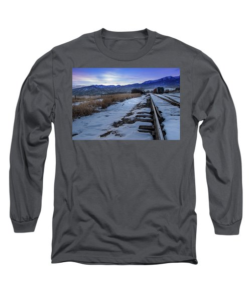 Winter Tracks Long Sleeve T-Shirt