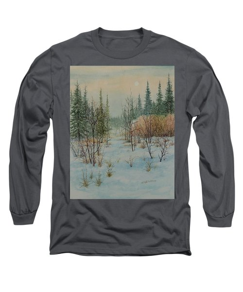 Winter Trail Alberta Long Sleeve T-Shirt