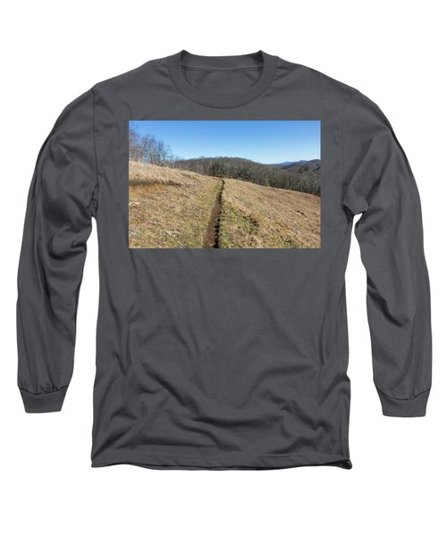 Winter Trail - December 7, 2016 Long Sleeve T-Shirt