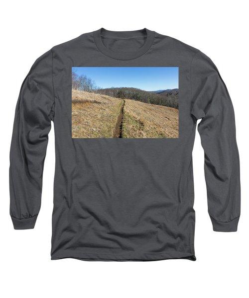 Winter Trail - December 7, 2016 Long Sleeve T-Shirt