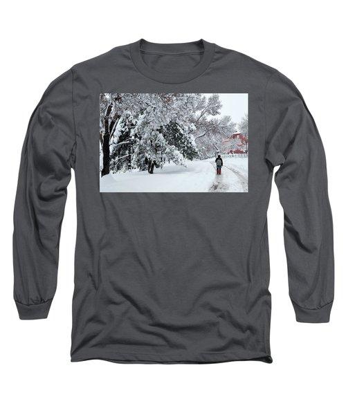 Winter Trekking-3 Long Sleeve T-Shirt