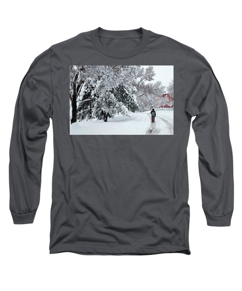 Winter Trekking-3 Long Sleeve T-Shirt