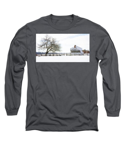 Winter White Out Long Sleeve T-Shirt