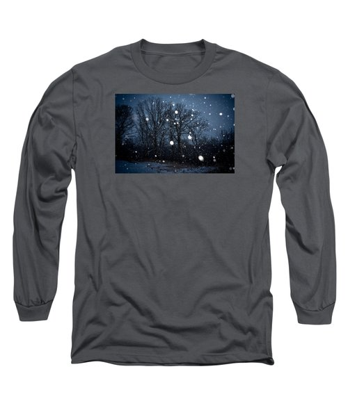 Long Sleeve T-Shirt featuring the photograph Winter Wonder by Annette Berglund