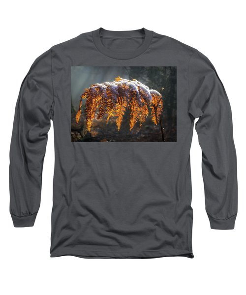 Winter Woods Long Sleeve T-Shirt by Shirley Mitchell