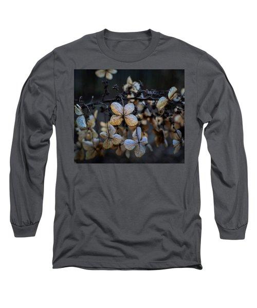 Winterized Hydrangea Long Sleeve T-Shirt