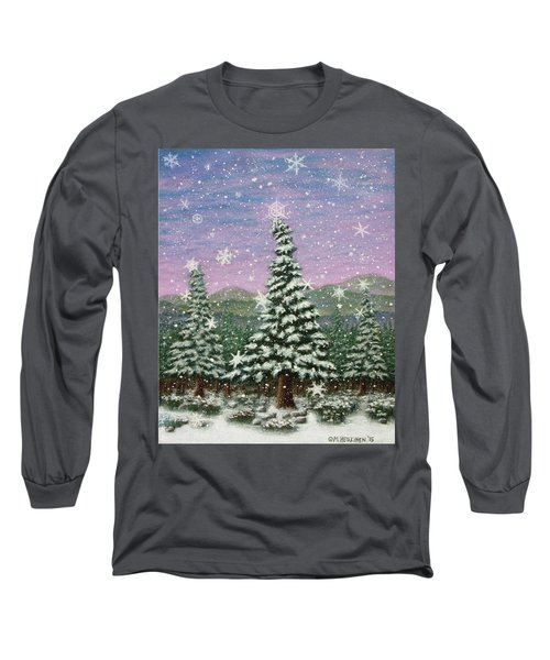Winter's Eve 01 Long Sleeve T-Shirt