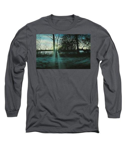 Winter's Evening Scout Long Sleeve T-Shirt