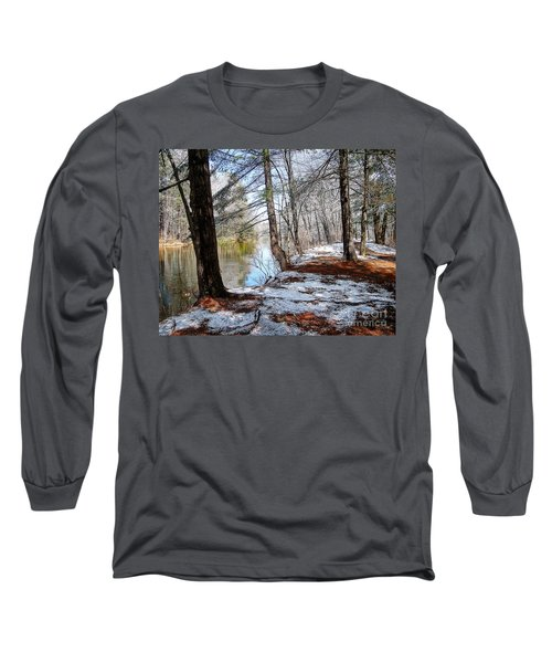 Winter's Remains Long Sleeve T-Shirt by Betsy Zimmerli