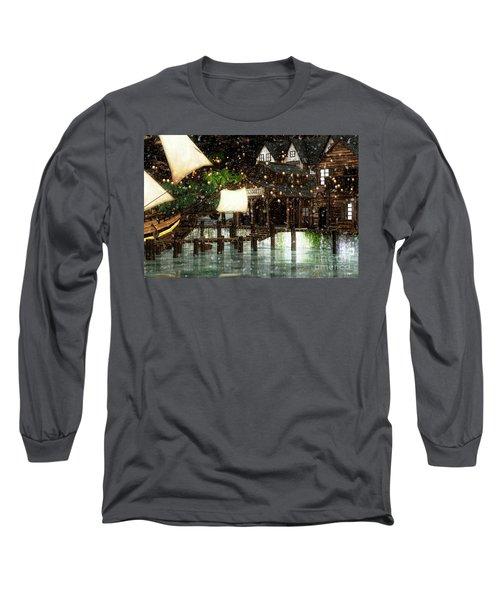 Wintery Inn Long Sleeve T-Shirt