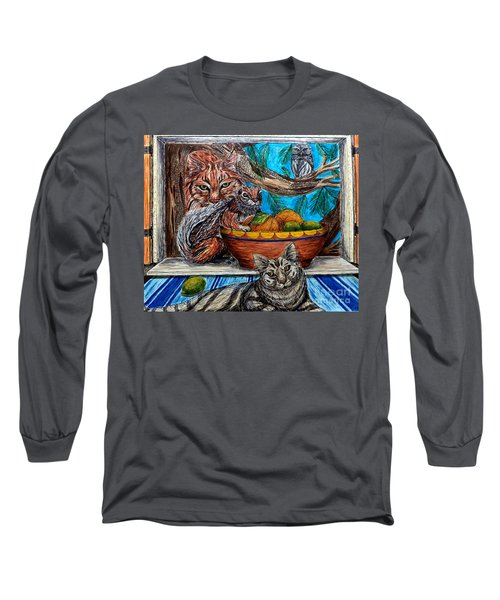 Wisdom Would Say Long Sleeve T-Shirt