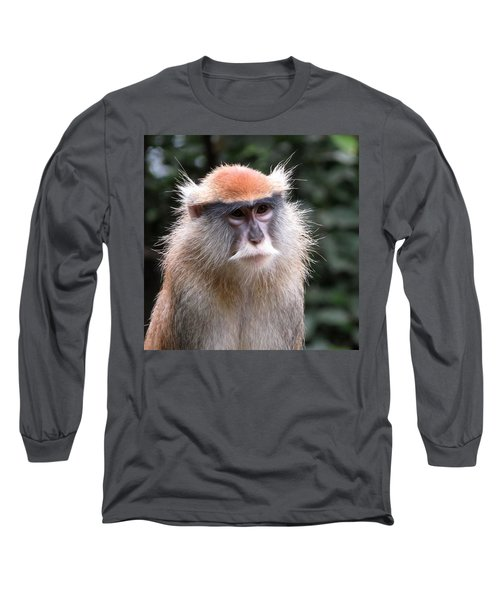 Wise Eyes Long Sleeve T-Shirt by Keith Stokes