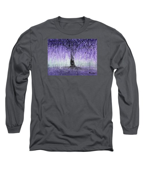 Wisteria Dream Long Sleeve T-Shirt by Kume Bryant