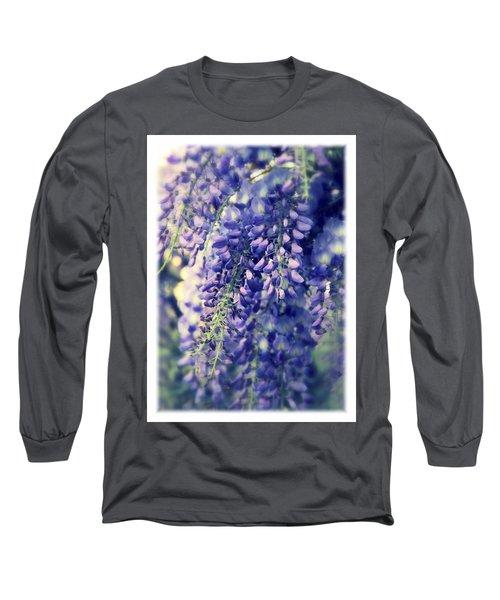 Wisteria Whimsy Long Sleeve T-Shirt