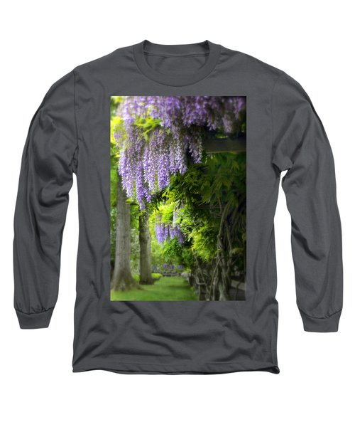 Wisteria Woodland Long Sleeve T-Shirt