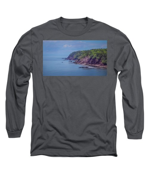 Wistful Songs Of The Ocean Long Sleeve T-Shirt