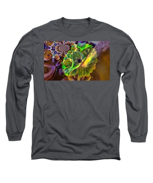 Long Sleeve T-Shirt featuring the photograph Within The Mind Meld by Jeff Swan