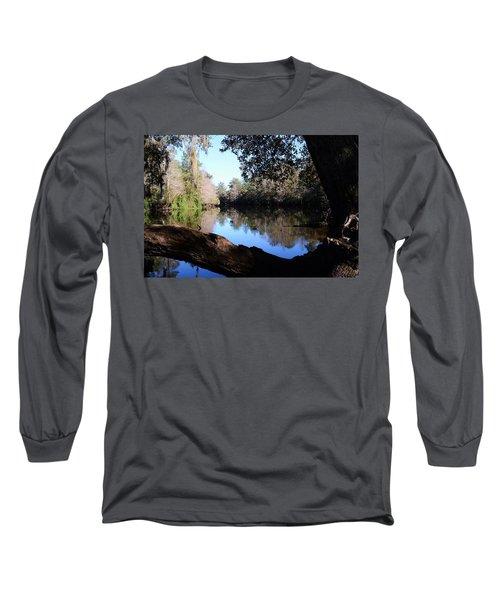 Withlacoochee Overlook Long Sleeve T-Shirt by Warren Thompson