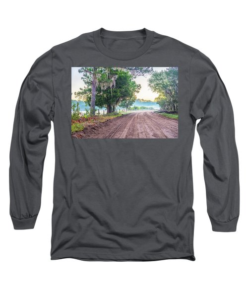 Witsell Rd - Church Field Fog Long Sleeve T-Shirt