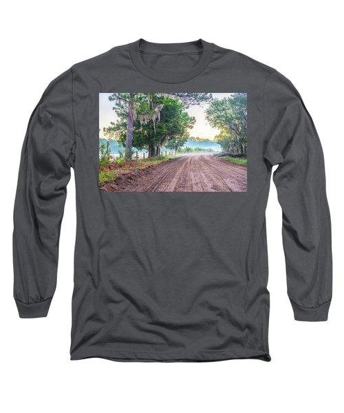 Witsell Rd - Church Field Fog Long Sleeve T-Shirt