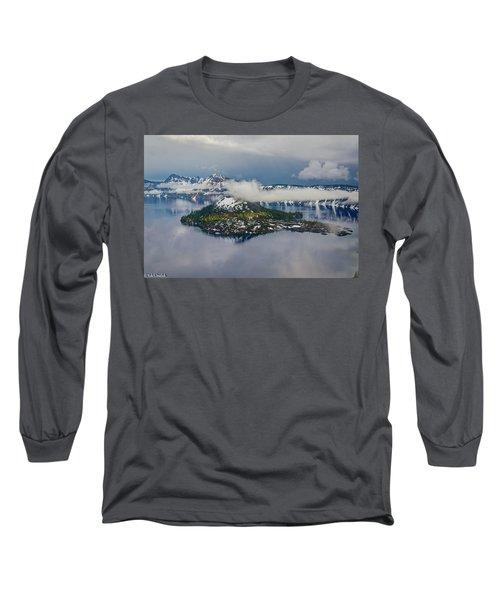 Wizard Island Long Sleeve T-Shirt